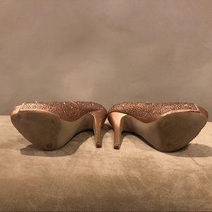 Steve Madden Shoes - Rose Gold 8.5 Heels ✨
